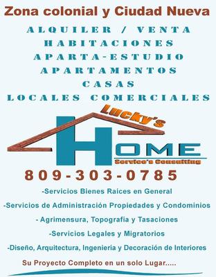 Alquiler Inmuebles En La Zona Colonial, Ciudad Nueva, Inmo