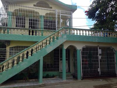 Casa El Eden Villa Mella. Financiamiento Con Todo Los Bancos